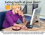 LunchAtDesk